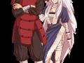 Буцума Сенджу с какой-то девчонкой